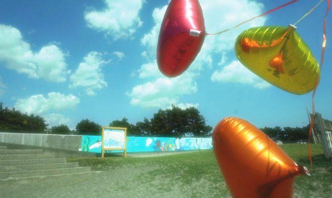 ハートの風船