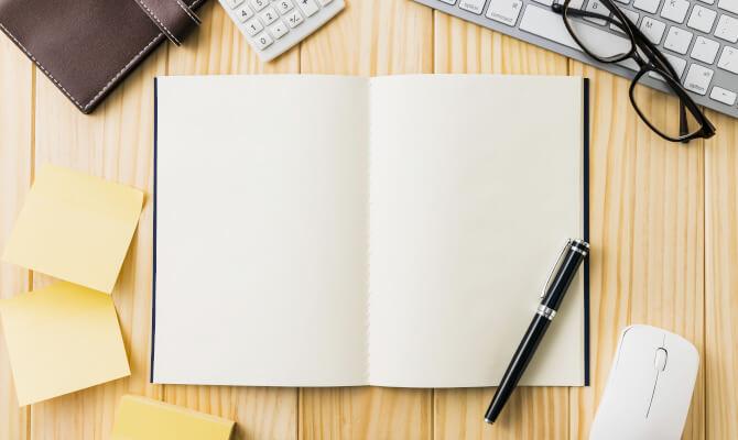 ノートとペンとPC
